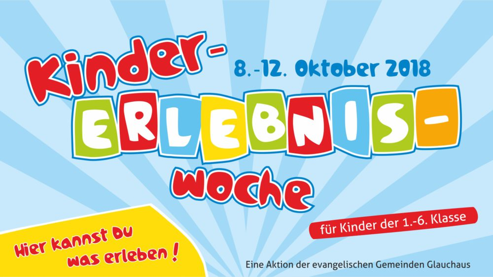 Kinder-ERLEBNIS-Woche